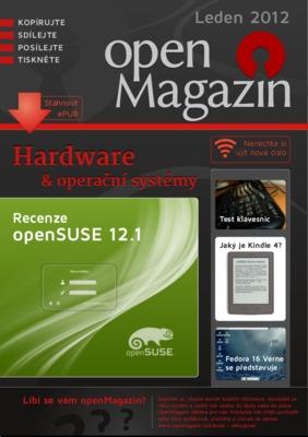 Obálka openMagazinu 1/2012