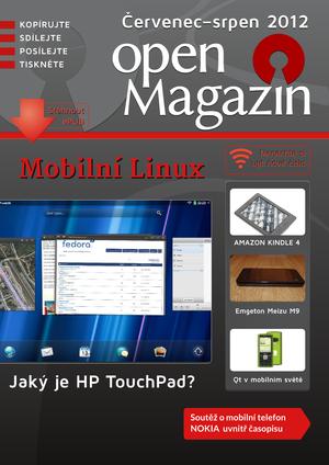 Obálka openMagazin 07-08/2012