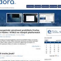 Fedora.cz - Web pro komunitu uživatelů