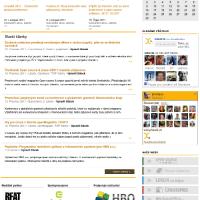 Pohled na celý web Liberix.cz