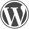 WordPress logo W