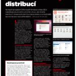 Článek o linuxových distribucích v Computeru 1