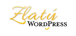 Logo Zlatý WordPress