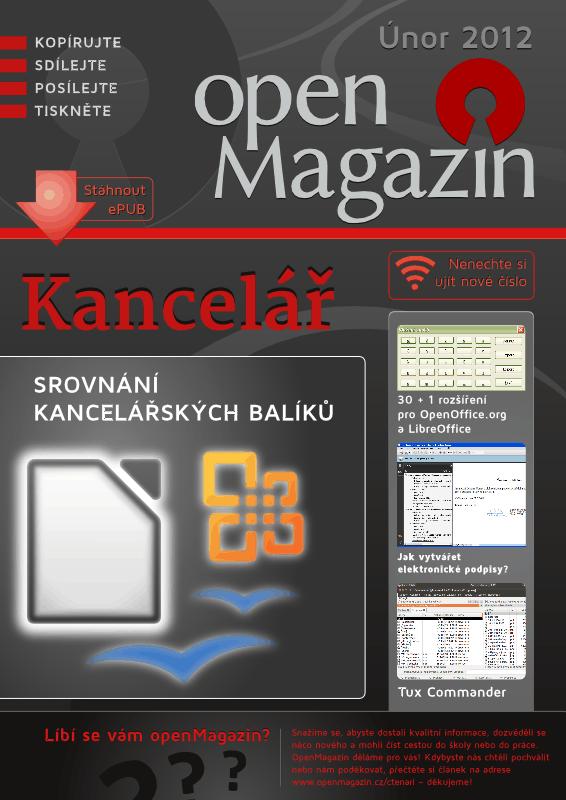Kliknutím stáhnete openMagazin 02/2012