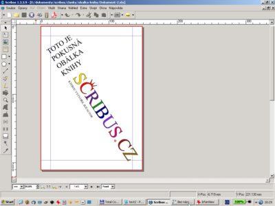 Práce s textem ve křivkách ve Scribusu