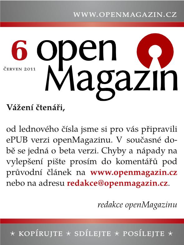 openMagazin 6/2011