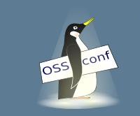 Tučňák - logo konference OSSConf v Žilině