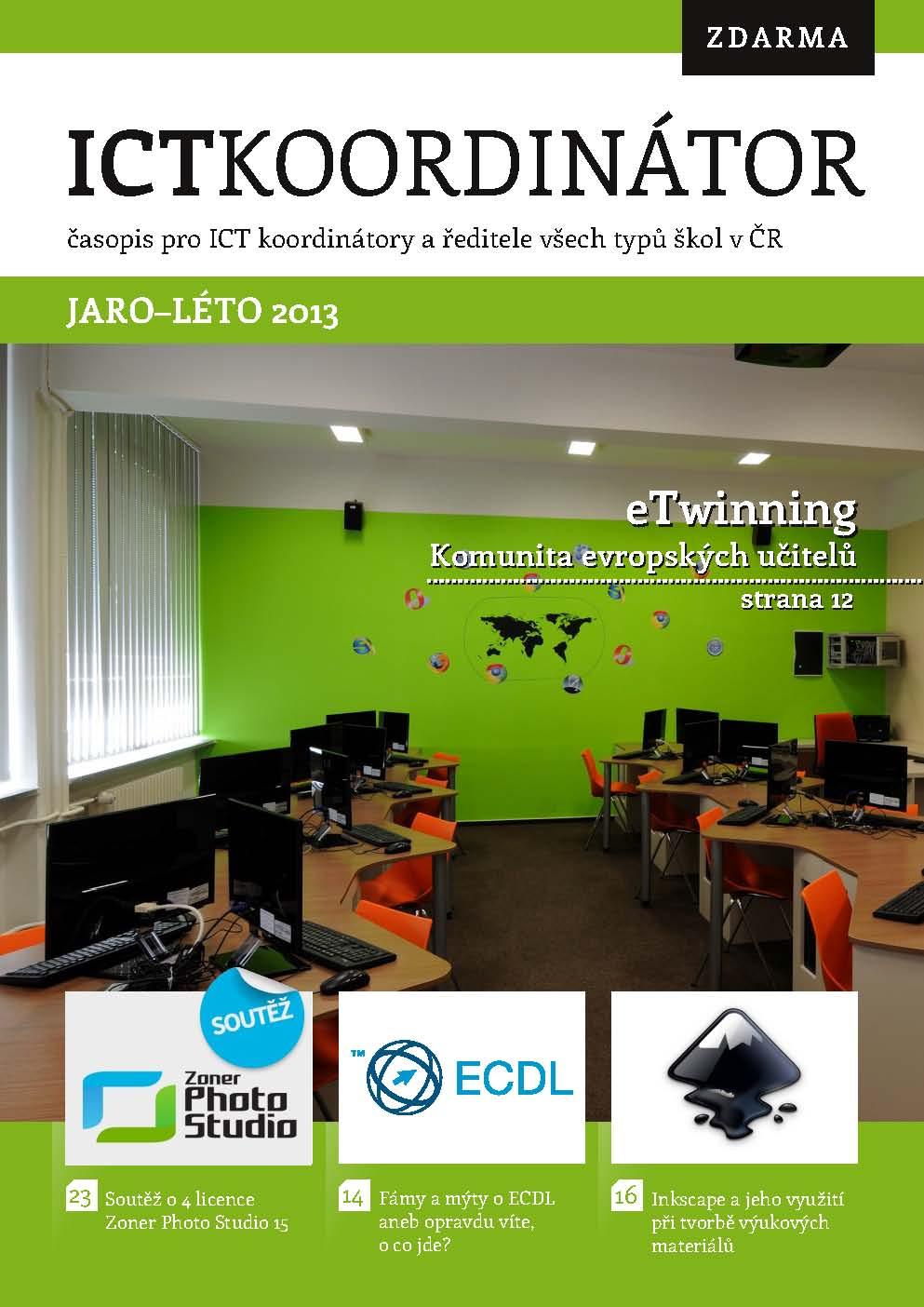 Titulka ICT Koordinátoru 1/2013