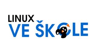 Logo Linux ve škole