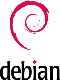 Logo: Debian GNU/Linux