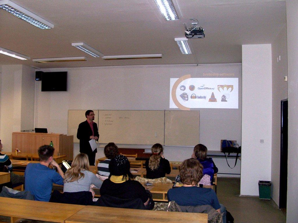 Přednáška na PF UPOL