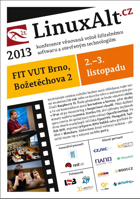 Leták LinuxAlt 2013