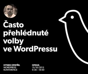 Přehlédnuté volby ve WordPressu