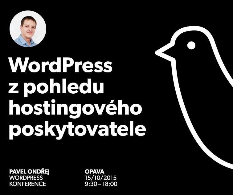 WordPress pohledem hostingu